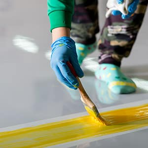 Painting Lines