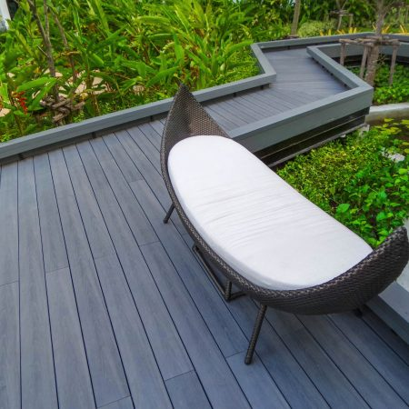 Painting Decking Unique Garden Space