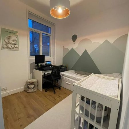 GrafClean wipeable paint for kids bedroom